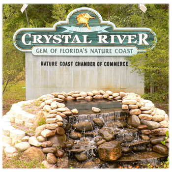 City of Crystal River Sign