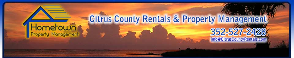 Hometown Property Management - Citrus County Rentals & Property Management 352-527-2428